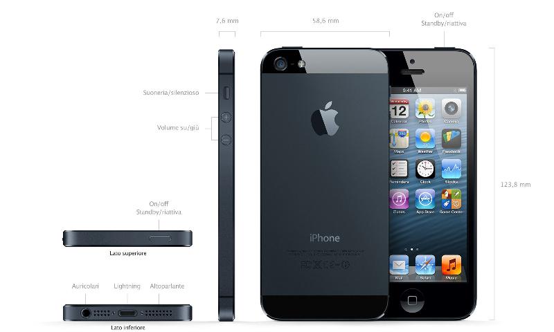 iphone-5-nero-indicazione-tasti