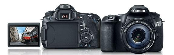 Canon EOS 60D - La prima reflex Canon con display articolato