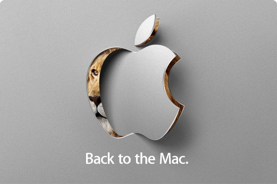 Evento Apple 20 ottobre 2010 - Back to the Mac