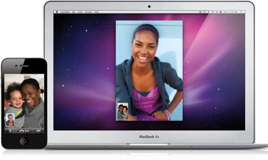 FaceTime - Da Mac a iPhone 4 o iPod touch