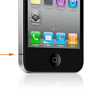 iPhone 4 - Posizione antenna