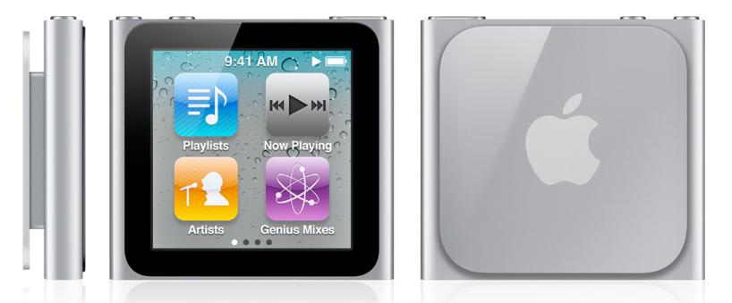iPod nano sesta generazione graphite