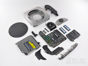 Mac mini unibody smontato da iFixit