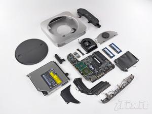 Mac mini unibody smontato da iFixit
