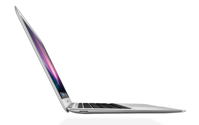 MacBook Air - Vista laterale