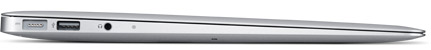 MacBook Air late 2010 - Vista laterale