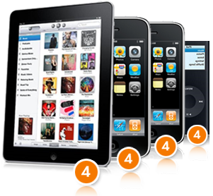 Saldi Privati - Concorso a premi - 4 iPhone, 4 iPod touch e 4 iPod nano