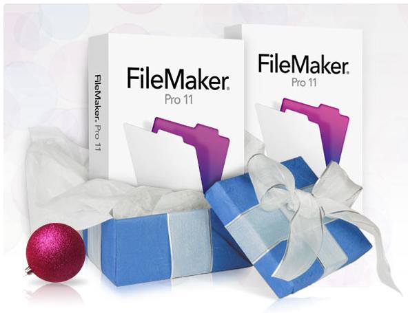 FileMaker Pro 11 - Offerta Natale 2010 - 2 x 1