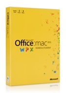 Microsoft Office 2011 for Mac - Box Home & Student family pack