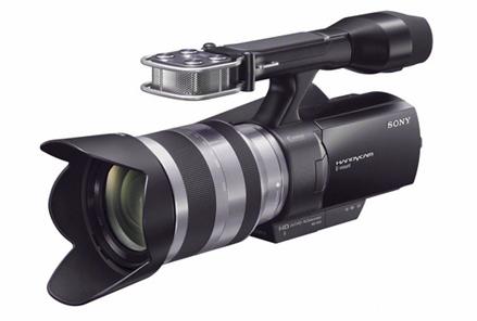 Sony NEX-VG10E - Videocamera compatibile con le ottiche della serie Alpha