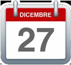 Calendario - 27 dicembre