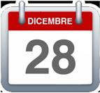 Calendario - 28 dicembre