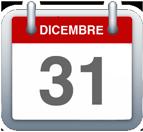 Calendario - 31 dicemmbre