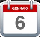 Calendario - 6 gennaio