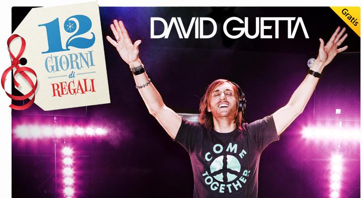 iTunes Store - 12 Giorni di Regali - David Guetta