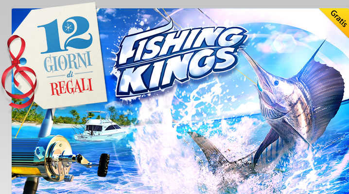 iTunes Store - 12 giorni di regali - Gameloft - Fishing Kings