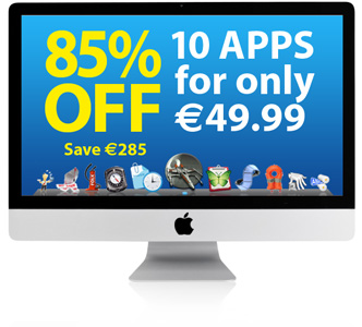 Macpromo - Bundle software - Sconto dell'85% su 10 applicazioni per mac