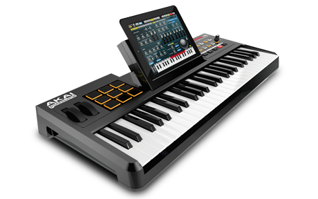 AKAI SyntStation49 - Keyboard controller con Dock per iPad