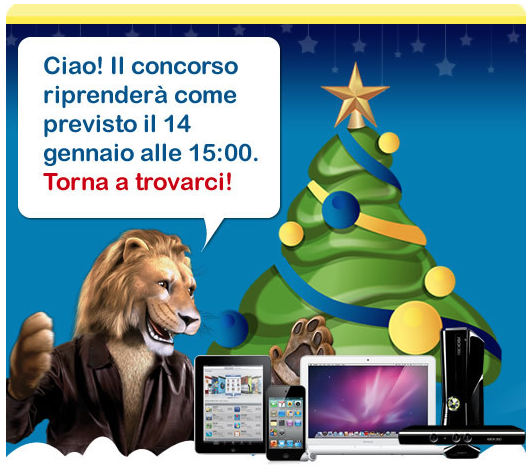 Euronics - Concorso - In palio iPad, iPod touch e MacBook
