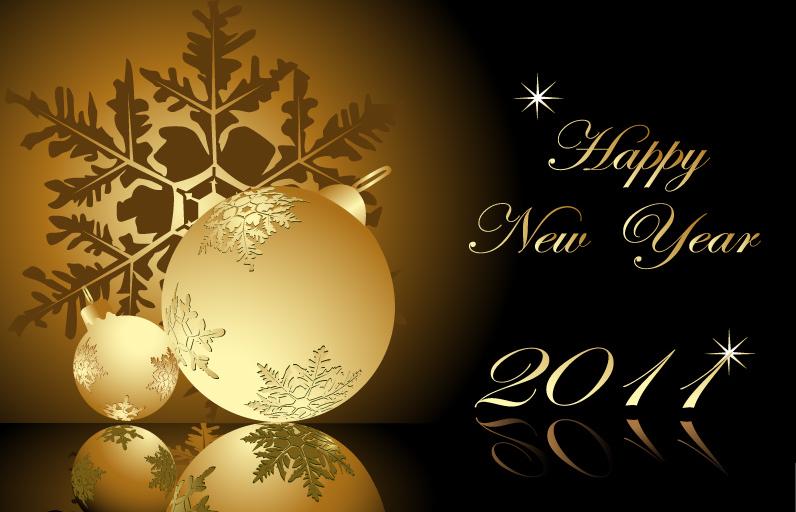Happy New Year - 2011 - Buon anno nuovo