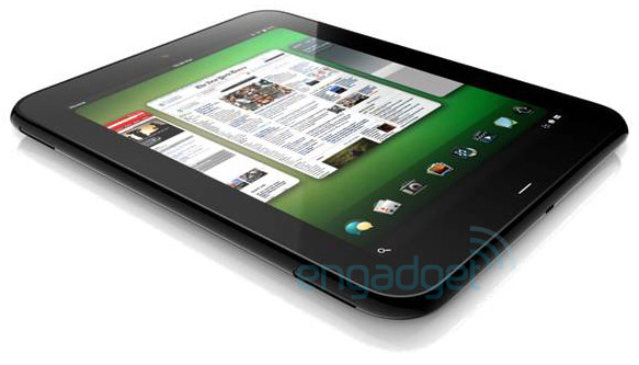 HP / Palm Topaz, tablet con Web OS - Rendering diffusi da Engadget