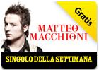 iTunes Store - Singolo della Settimana - Trasparente di Matteo Macchioni