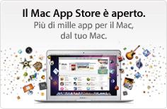 Mac App Store aperto