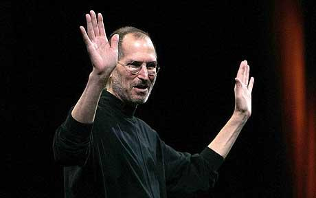 Steve Jobs - Saluto a due mani
