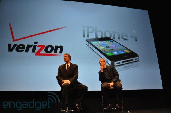 Verizon e Apple annunciano l'iPhone 4 CDMA