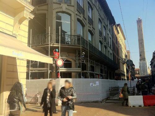 Apple Store Bologna - Via Rizzoli - Il Cantiere