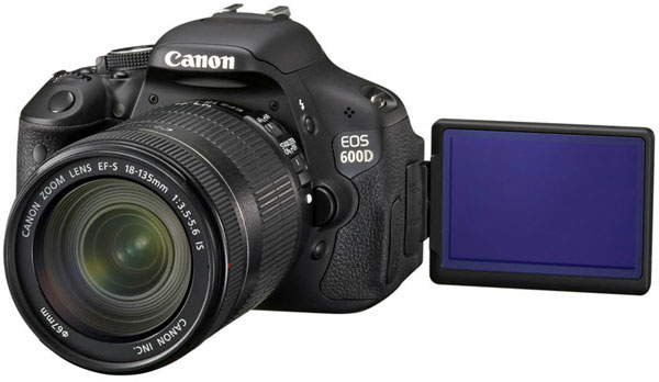 Canon EOS 600D - Reflex digitale con display articolato