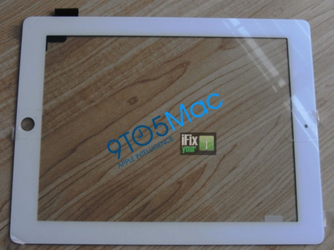 iPad - Digitizer con cornice bianca