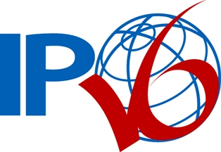 Un logo IPV6