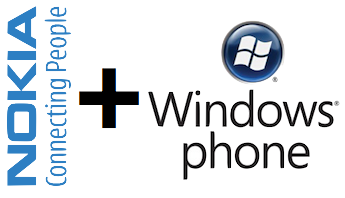 Loghi Nokia e Windows Phone uniti