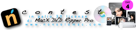 Contest MacX DVD Ripper Pro - Banner 4° giorno