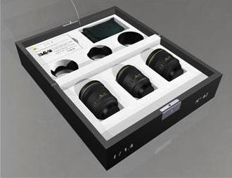 Nikon Prestige Limited Editon - Cofanetto ottiche f/1.4