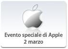 Apple - Evento Apple 2 marzo - iPad 2 - iOS 4.3 - Podcast su iTunes Store