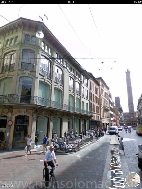 Bologna - Casa Commerciale Barilli - da Google StreetView
