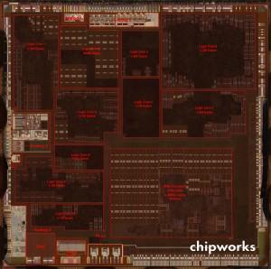 Chipworks - Apple A5 - Analisi al microscopio