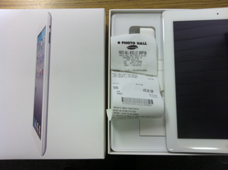 iPad 2 venduto in Belgio un giorno prima - Lo scontrino