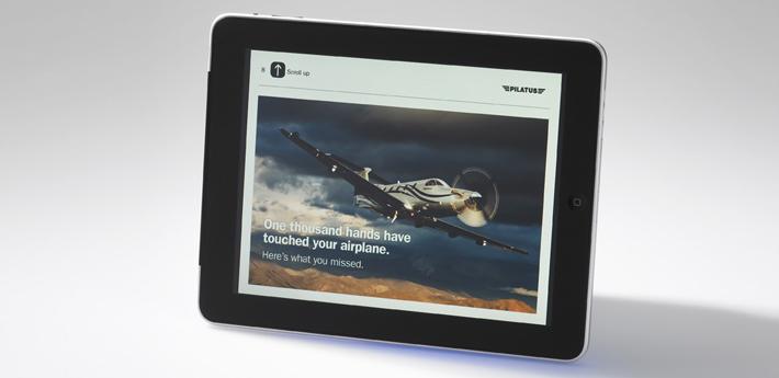 iPad Delivery Program for PC-12 Pilatus
