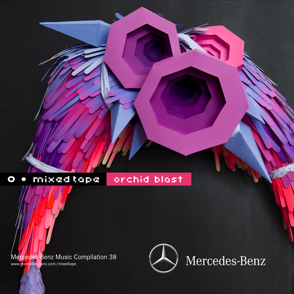 Mercedes-Benz - Mixed Tape 38 - Orchid Blast - Copertina - Cover