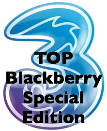 3 logo - Top Blackberry Special Edition