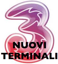 Logo 3 Italia - Nuovi terminali