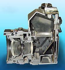 Reflex - Sezione di una fotocamera