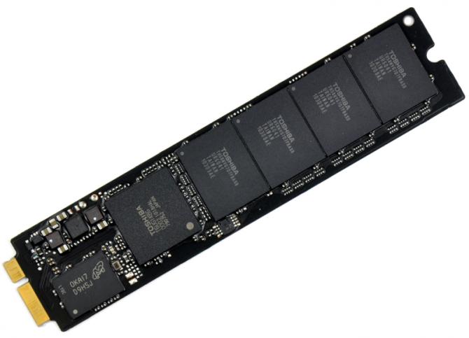 Toshiba - Scheda SSD blade dei MacBook Air (primi esemplari)