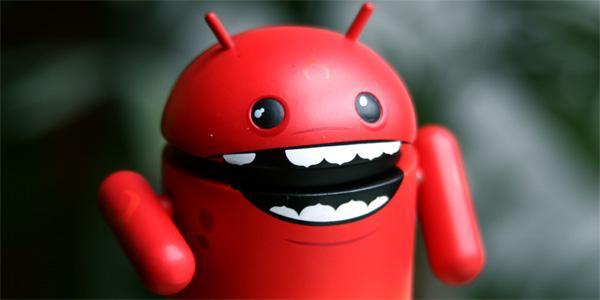 Android - robottino rosso diavoletto
