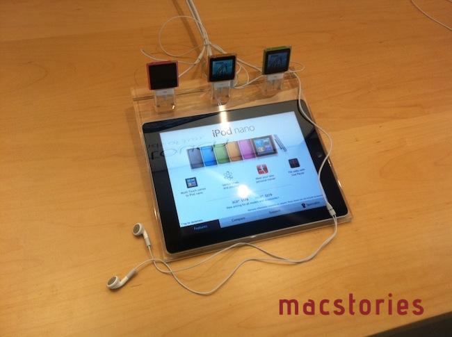 Apple Store 2.0 - Postazione iPod nano