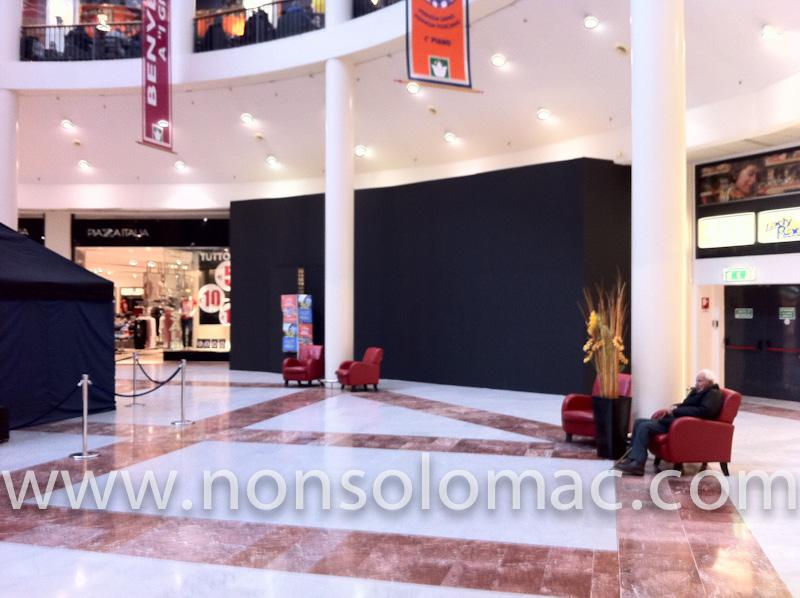 Apple Store I Gigli - Campi Bisenzio (FI) - Il cantiere dalla Corte Tonda