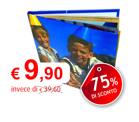 Canon PhotoLab - Offerta DeLux Photo Album a 9,90€